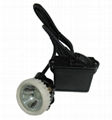 5Ah Lithium ion LED 4500lux mining underground mining hard hat lamp 2