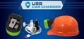 NEW KL3 Miners Cap Lamp Metal Led Mining multifunctional Moving Head Light