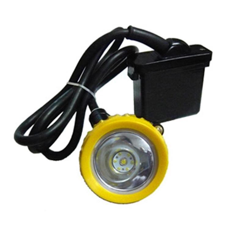 Yellow Head Ring 6.6Ah Li Ion 3v 10000lux KL5LM led Mining Cap Lamp 2