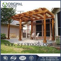 Thermo wood pergola gazebo