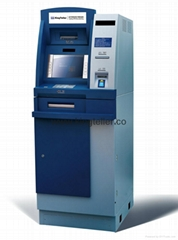 Multifunctional Lobby ATM with Passbook Printer