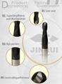 Hot sales JINRUI carbide end mill router