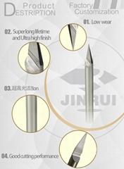 CNC Carbide V engraving end mill bits engraving knife