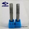 High quantity CNC tungsten carbide V groove end mill milling cutter 4