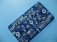 Heavy copper PCB FR4 3oz 1.6mm With Blue Solder Mask HASL Lead free