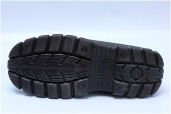 safety work shoes 8055-1 embossed leather pu outsole 4