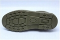 safety work shoes 8009-1 suede leather