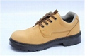 safety work shoes 8012 smooth leather pu