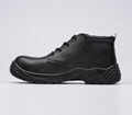 safety work shoes 8066 embossed leather
