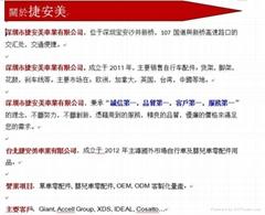 深圳市捷安美車業有限公司