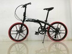 The folding bikes