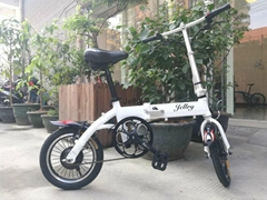 Lithium Battery Folding Bicycle