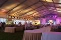 Outdoor Waterproof Polyester Fabric PVC Coated Stretch Tent For Wedding Party 2
