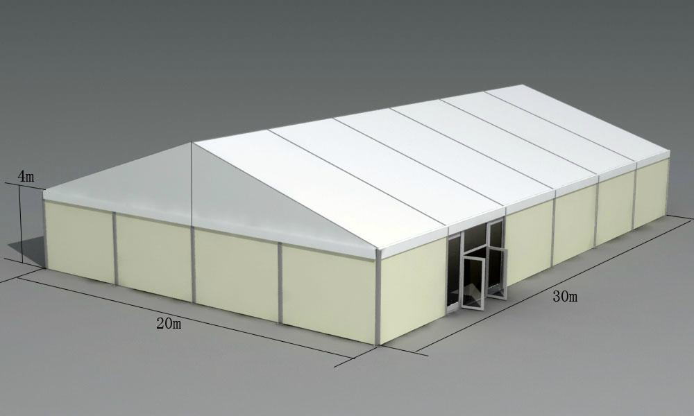 30x50m Highly Reinforced Warehouse Storage Trade Show Tent 1