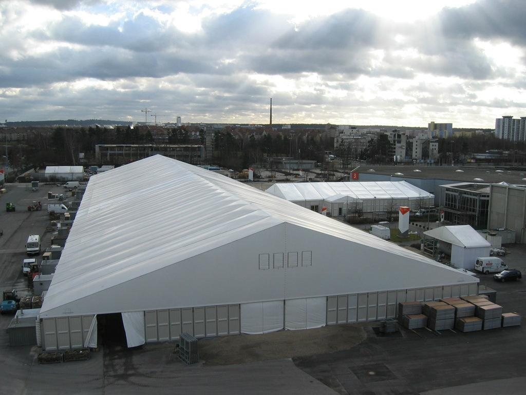 30x50m Highly Reinforced Warehouse Storage Trade Show Tent 3