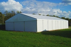 Factory Supply Durable Clear Span Warehouse Tents 30-50m In Philippine