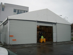 30x100m Outdoor Big Warehouse Tent With PVC Fabric And Steel Sandwich
