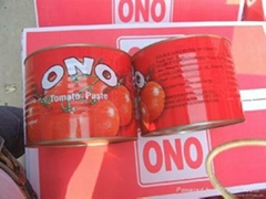 Easy open canned tomato