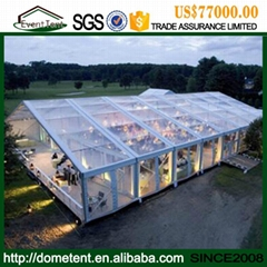 Facyory Deirct Sale Party Tent Outdoor Polygon Combination Tent From China Suppl