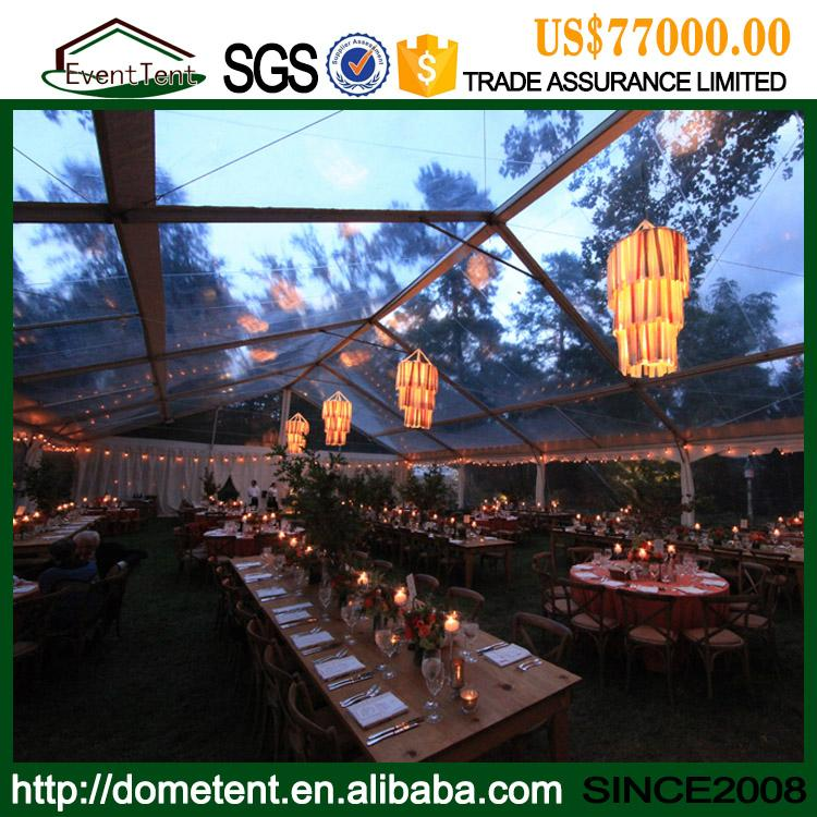 High Quality Outdoor Party Tent Luxury Clear Roof 20x30 Wedding Tent For Sale 1