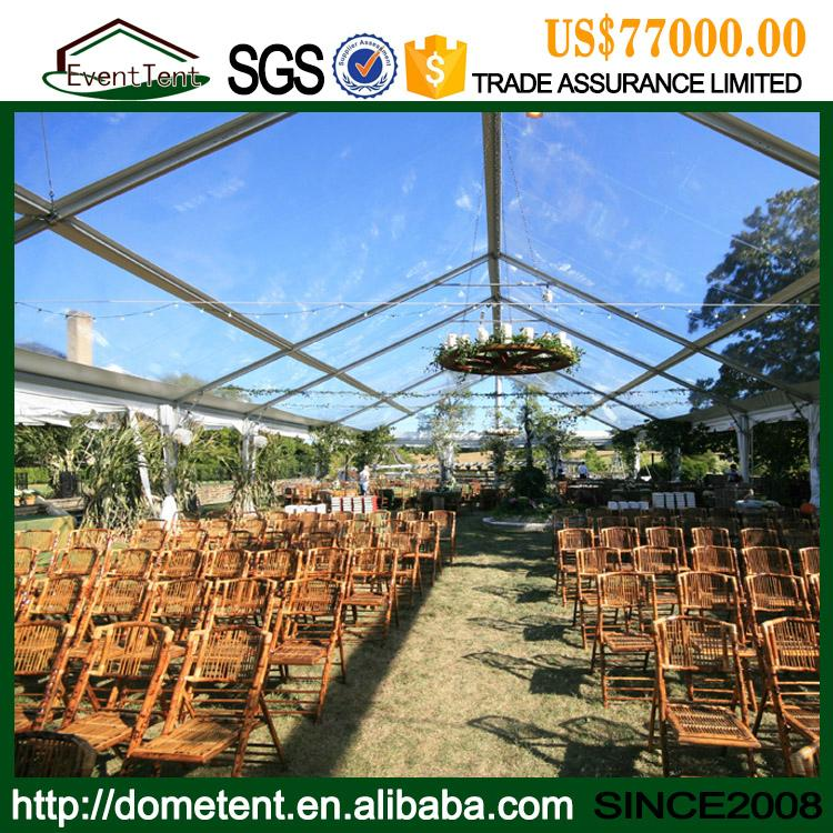 High Quality Outdoor Party Tent Luxury Clear Roof 20x30 Wedding Tent For Sale 2