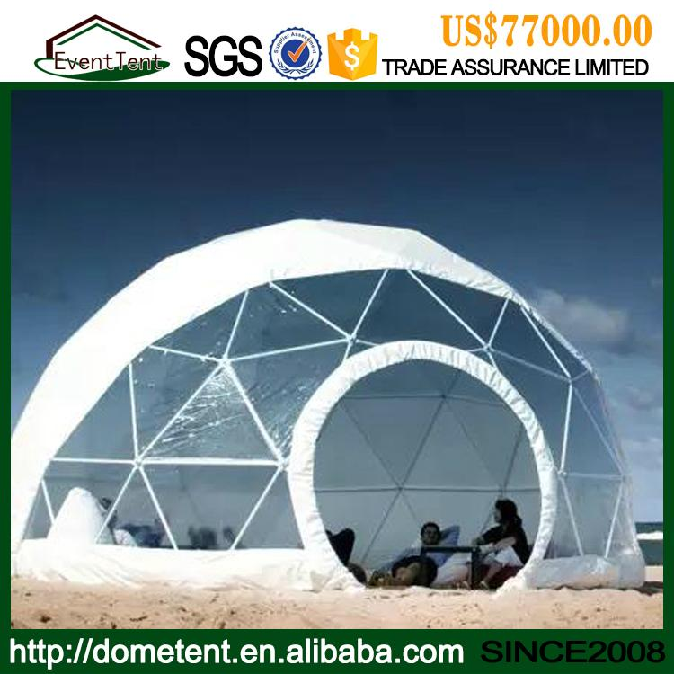 High Quality Metal Frame Igloo Garden House Waterproof Dome Tent For Sale 2