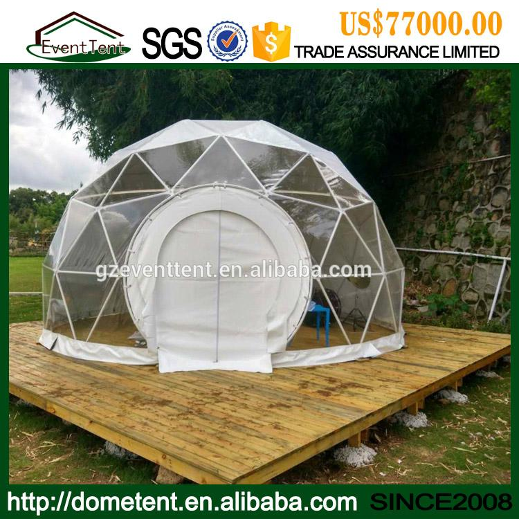 High Quality Metal Frame Igloo Garden House Waterproof Dome Tent For Sale 4