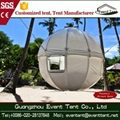 Large UV Resistance Geodesic 3m tree tent hotel from Guangzhou China 2
