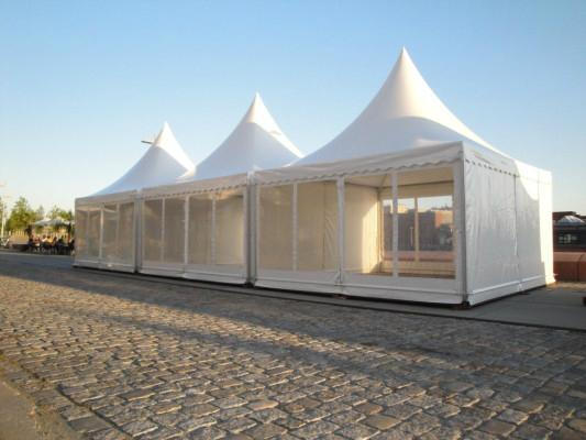 Multi-functional 3x3M Aluminum Shade Structures Gazebo Tent For Sale Philippines 2