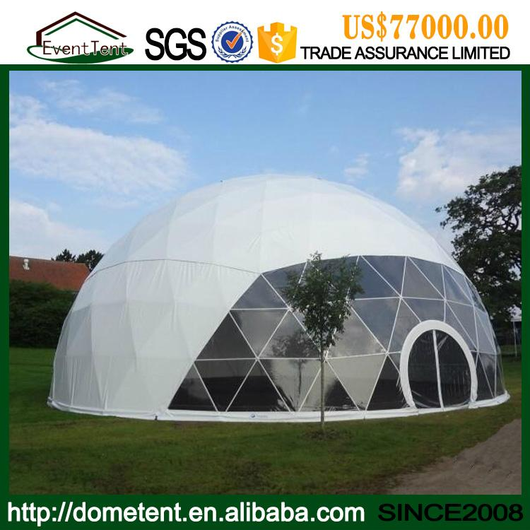 4-60m igloo dome tent aluminum frame structure, water proof PVC roof round dome  1