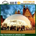 4-60m igloo dome tent aluminum frame structure, water proof PVC roof round dome  5