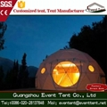 Cheap Aluminum Alloy Frame Transparent Dome Tent For Outdoor Events 2
