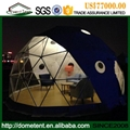 Shapely Aluminum Alloy Facet Dome Tent With Ventilation Windows 3