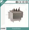 S11 30-2500 kVA Three-Phase 10kv Oil-Immersed Laminated Core Type Transformer