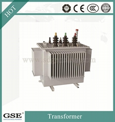 S11 30-2500 kVA Three-Phase 10kv Oil-Immersed Laminated Core Type Transformer