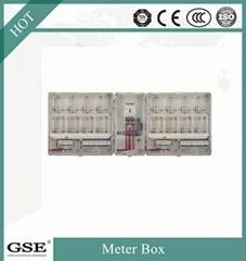 IP44 Single phase PC Material waterproof Electric Energy meter box