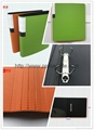 durable using colorful FC PP foam 2 hole D ring binder file 1