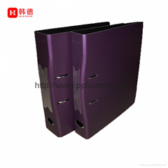 """2017 new design hot selling factory prie X Spine A4 2"""" PP foam lever arch file"""