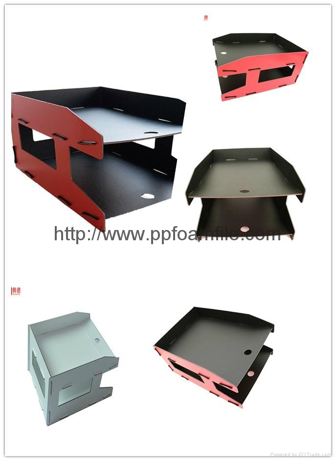 2017 new design hot selling DIY factory direct 2 layers file holder 1