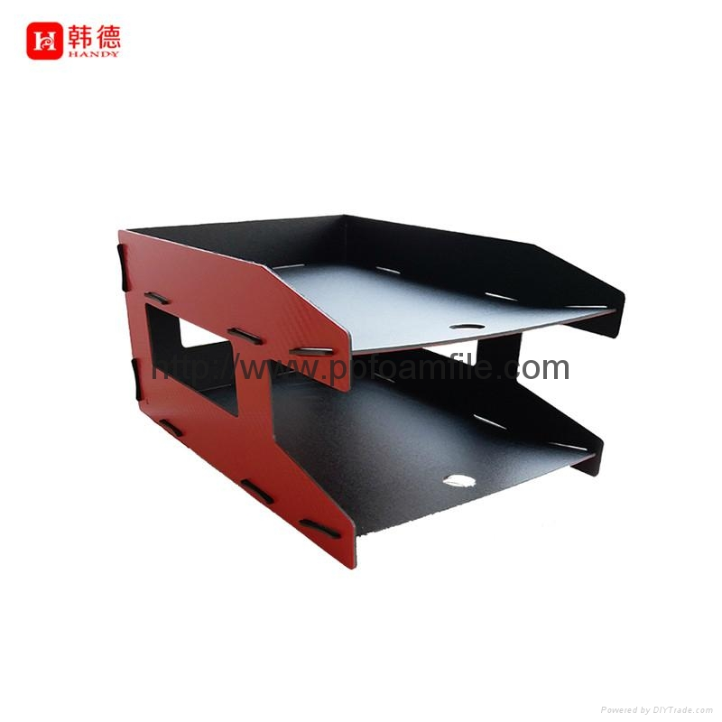 2017 new design hot selling DIY factory direct 2 layers file holder 3