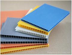 PP polypropylene hollow sheet