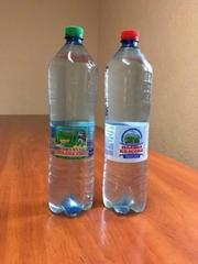 """Ukrainian carbonated mineral water """"Poliana Kvasova"""" and """"Poliana Kupel"""""""