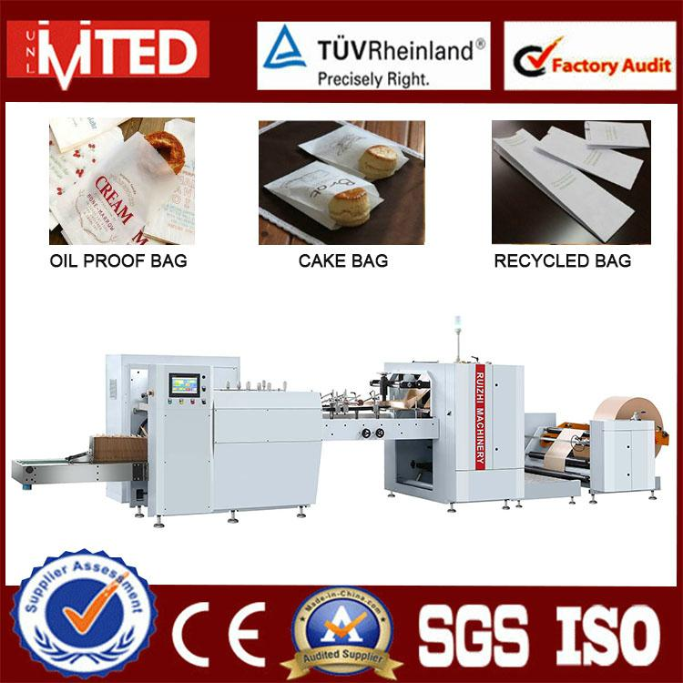 High Speed Fully Automatic Small Paper Bag Making Machine 1
