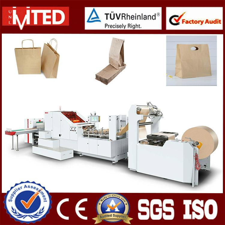 Wenzhou Factory Machine Making Paper Bag Big Size With Handle Available 1