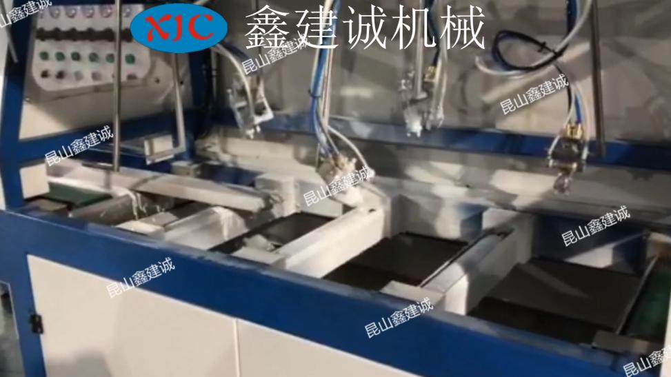 鑫建誠木線條自動噴漆機 2