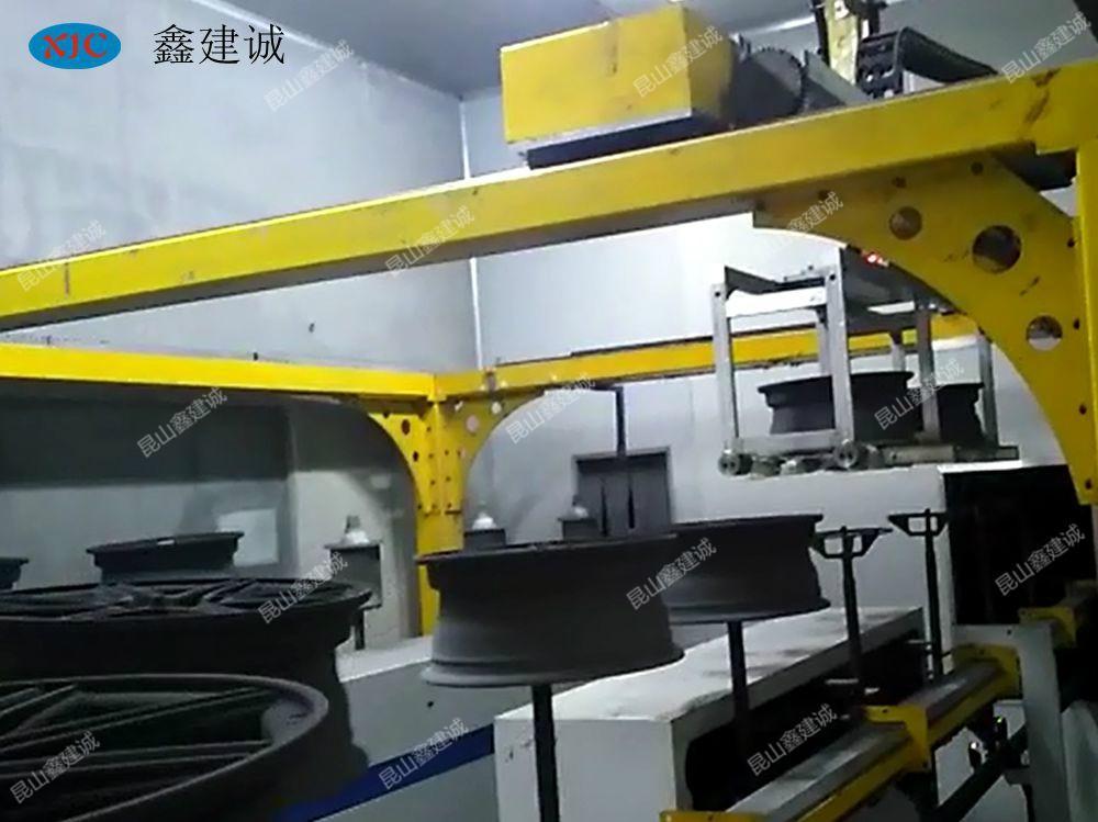 崑山鑫建誠汽車輪轂自動移載機 2
