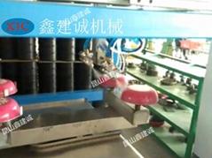 崑山鑫建誠五軸四盤自動噴漆機