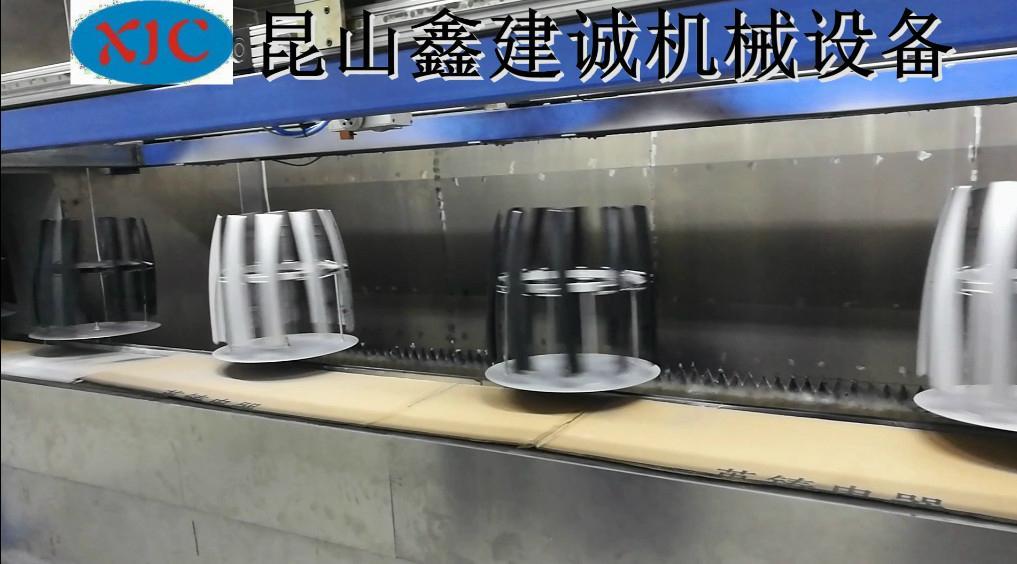 客戶定製盤子在線噴塗機 3