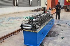 Door frame rolling shutter roll forming machine