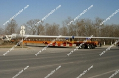 Expandable trailer for windpower blade